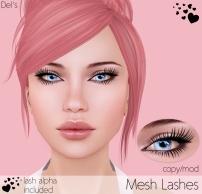 CosmeticsMeshLashes
