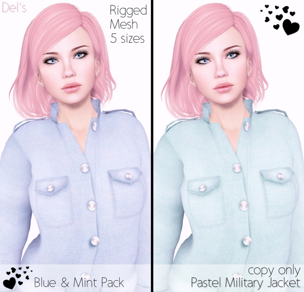 PastelMilitaryJacket-Blue&Mint